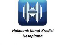 Halkbank Konut Kredisi Hesaplama
